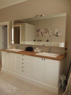 badkamermeubel met ikea keukenkasten