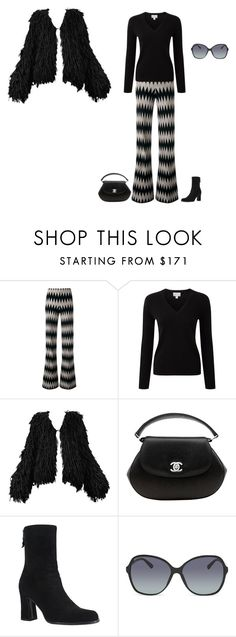 """""""That 70's Outfit"""" by rosalie-ann ❤ liked on Polyvore featuring Missoni, Pure Collection, Maison Margiela, Chanel, Yves Saint Laurent and Gucci"""