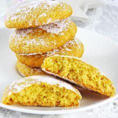 Biscoitos de mel e laranja