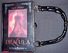 Dracula  Leather Book Purse  Made to Order by BookPurses on Etsy, $45.00