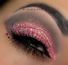 Rose Glitter Bomb