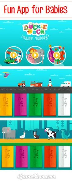 Fun app for babies to learn various sounds #kidsapps