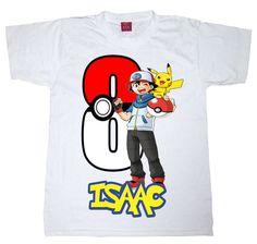 pokemon birthday shirt BOY or GIRL shirt by WishesandkissesCo