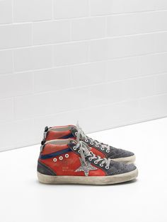 www.goldengooseshoponline.com/  139 Golden Goose Mid Star Sneakers - G30ws634 - Golden Goose Sneakers Sale comprar zapatos outlet #good online stores to shop at #shop fashion