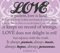 Truth in the meaning of Love