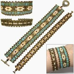 images wrap bracelets with tila beads - Google Search