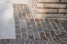 Pavimentazione di una villa privata realizzata a Bardolino (Vr) con cubetti di porfido del Trentino controllato e gradini in Pietra della Lissinia. - - #porfido #porfidotrentino #pavimenti #photooftheday #beautiful #polistone #square #sigillature #art #nature #style #instalike #nofilter #photo #design #moda #cucina #piscina #europorfidi #firstpost #instagramhub #piazza #cut #marmomac #firstpost #ciclabile #work #stone #porphiry #lavori Design Moda, Tile Floor, Flooring, Beautiful, Home, Style, Swag, Ad Home, Tile Flooring