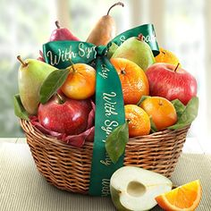 Sympathy Orchard Favorites Fruit Bask... $32.95 #topseller