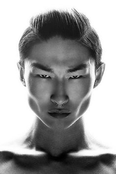 Models Of Color - Kim Sang Woo by Michael Silver(sorry about the category- your fabulous) Face Reference, Photo Reference, Kim Sang Woo, Character Inspiration, Portrait Inspiration, Fotografie Portraits, Face Study, Unique Faces, Face Expressions