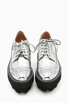 Hoppus Platform Oxfords by Jeffrey Campbell