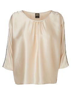 Silk-look top from VERO MODA. This is perfect for an elegant look for your next evening out.