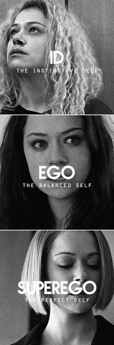 Id | Ego | Superego #orphanblack