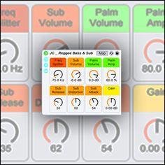 Make / Download a reggae instrument rack for Ableton Live.