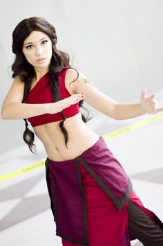 Katara cosplay, Avatar the Last Airbender