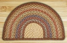 Slice Braided Rug Perfect for your fireplace or cabinet Eco-Friendly Jute Honey, Vanilla and Ginger 2 Sizes Available Jute Rug, Woven Rug, Live Christmas Trees, Braided Area Rugs, Synthetic Rugs, Small Braids, Natural Fiber Rugs, Area Rug Runners, Entry Rug