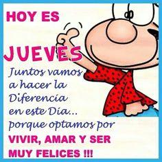 * JUEVES. *