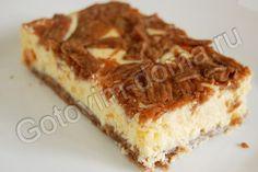 Пирог с творожной начинкой Забава
