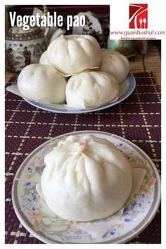 Another Simpler Healthier Breakfast Item–Chinese Style Vegetarian Steamed Buns (素菜包)