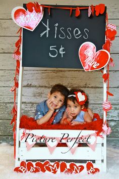 How cute are they? She's wearing CHIKI Headband @ PICTURE PERFECT Valentine's Shooting #Baby #Infant #Girl