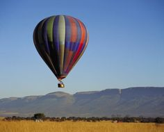 Hot-Air Ballooning - If you are planning a romantic occasion or simply want a breathtaking adventure activity that will allow you to lose your head in the clouds, hot air ballooning is one of the most popular activities you may enjoy. Balloon Rides, Hot Air Balloon, African Vacation, Balloon Flights, Adventure Holiday, Adventure Activities, Holiday Destinations, South Africa, Balloons