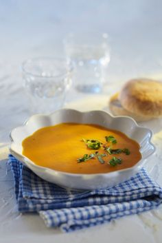 Nopea porkkana-sinihomejuustokeitto | K-ruoka