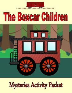 Students will love this 40-page activity packet that can be used with any Boxcar Children book. The printable packet includes 10 comprehension pages, 10 vocabulary pages, word work, creative thinking and critical thinking activities with the Boxcar Children theme. Comprehension Strategies, Reading Strategies, Reading Fair, Reading Mastery, Critical Thinking Activities, Magic Treehouse, Literature Circles, Thematic Units, Teaching Reading