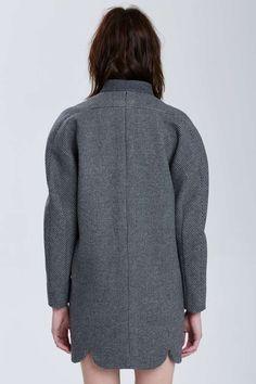 Vintage Balenciaga Alzira Wool Coat