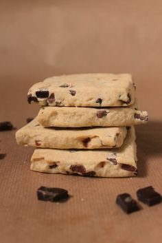 Chocolate chunk shortbread recipe