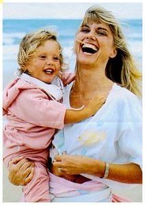Olivia Newton-John and daughter Cloe
