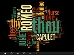 Cloudart - a great iPad app for making word clouds