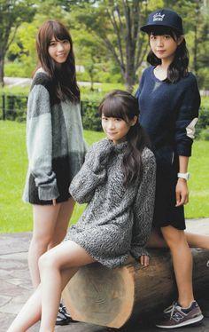 AKB & NMB & NOGIZAKA • ⊿深川麻衣♪ ⊿秋元真夏♪ ⊿西野七瀬♪