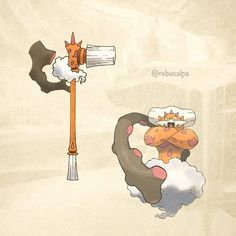 No. 645 - Landorus (Incarnate). #pokemon #landorus #hammer #pokeapon