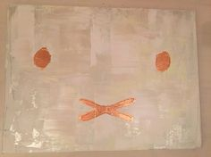 Nijntje, miffy, abstract painting by SB