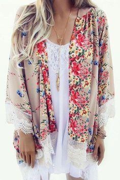 floral + lace