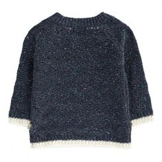 ZigZag Knitted Nat Pullover Navy blue  Kidscase