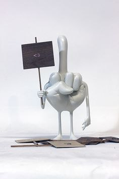 Yoskay Yamamoto's sculptures…