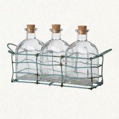 Bottle trio