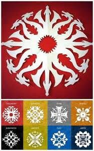 "truebluemeandyou: "" DIY 8 Game of Thrones Snowflake Patterns from Krystal Higgins here. For 56 Star Wars snowflake templates and other DIY snowflakes (ballerinas, zombies, Tardis etc…) go here:. Geek Crafts, Fun Crafts, Arts And Crafts, Paper Crafts, Paper Toys, Kirigami, Star Wars Snowflakes, Paper Snowflakes, Paper Snowflake Patterns"