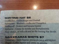 Harry potter shots at AFK Tavern @dcicuto