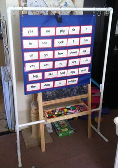 Diy Pocket Chart Stand
