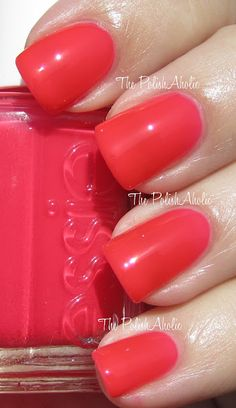 """Lights, *Camera*, Cosmo!                   Essie's beautiful, nail color """"Camera"""" is a spitting image of Go Cocktails! Cosmo <3"""