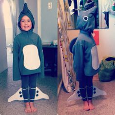 Winter the Dolphin costume from a Dolphin Tale movie.