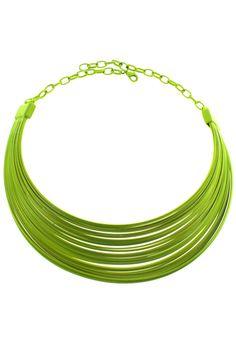 #ROMWE Plastic Collar Necklace