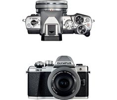 Olympus - OM-D E-M10 Mark II Mirrorless Camera with 14-42mm Lens - Silver - AlternateView11 Zoom
