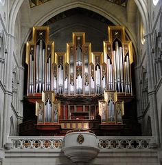 Gerhard Grenzing organ, 1999; Almundena Cathedral, Madrid, Spain; IV/71
