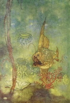 Prospero: And deeper than did ever plummet sound, I´ll drown my book - Shakespear's Comedy of The Tempest, 1908