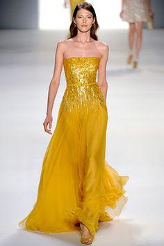 Elie Saab Spring/Summer 2012 - dresses in fantastic colours // Follow me :)
