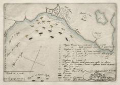 Map of the Battle of Sinope. Charles Meryon. Collection CMA