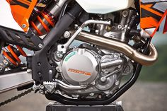 Another gem to come from the Austrian company's investor report for 2015 is that KTM is working on what it calls a revolutionary two-cylinder engine design.