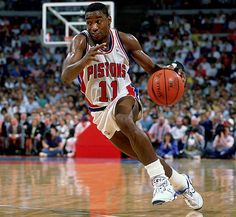Isiah Thomas - Playing the Point Guard Position - Coach's Clipboard Coaching Basketball Trainer, Basketball Drills, Sports Basketball, Basketball Players, Detroit Basketball, Pistons Basketball, Nfl Football, Soccer, Baseball